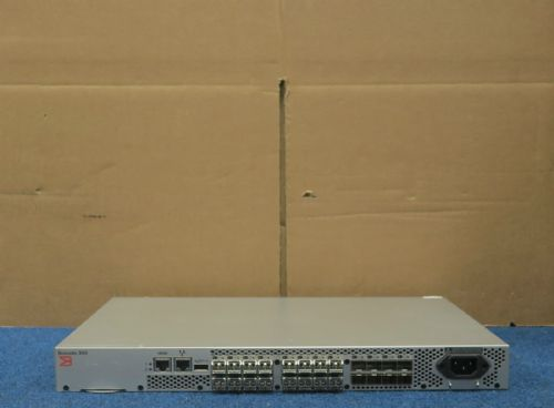 Brocade 300 BR-340-0008 8GB 24Port FC Switch 16 Active Port 16SFP Enhanced Group